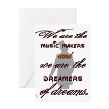 music makers lighter 2 Greeting Card