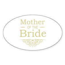 Mother of the Bride gold Decal