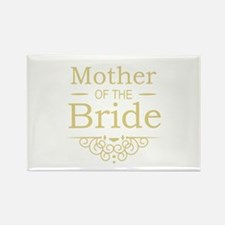 Mother of the Bride gold Magnets