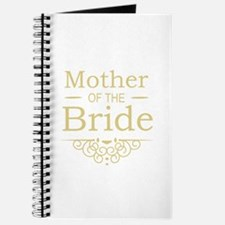 Mother of the Bride gold Journal