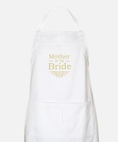 Mother of the Bride gold Apron