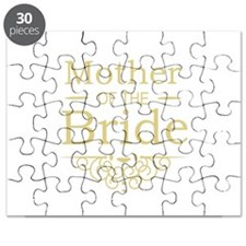 Mother of the Bride gold Puzzle