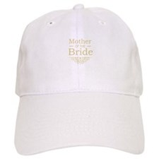 Mother of the Bride gold Baseball Cap