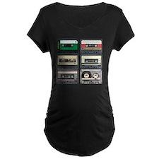 cassettes sqaure T-Shirt