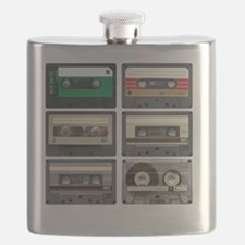 cassettes sqaure Flask