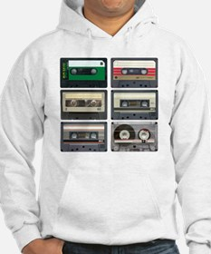 cassettes sqaure Hoodie
