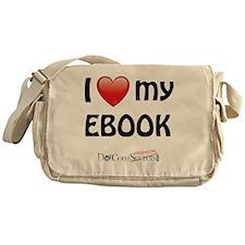 i-heart-ebook-02 Messenger Bag