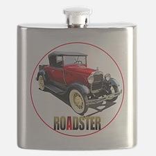 RedAroadster-C8trans Flask