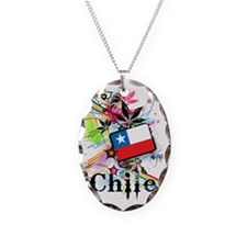 flowerChile1 Necklace