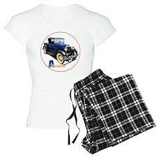 Aroadster-blue-C8trans Pajamas