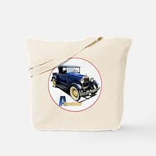 Aroadster-blue-C8trans Tote Bag