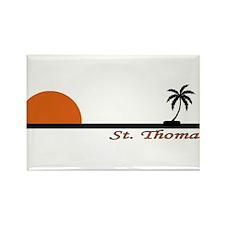 Unique St. thomas Rectangle Magnet (10 pack)