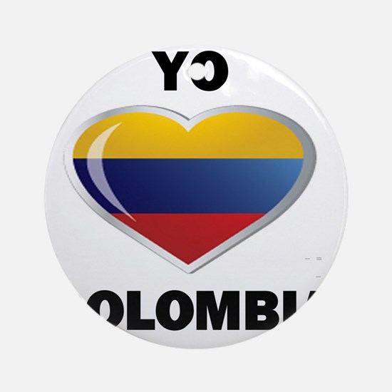 YOC CLOMBIA 0 Round Ornament