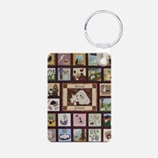 2010whole_quilt Aluminum Photo Keychain