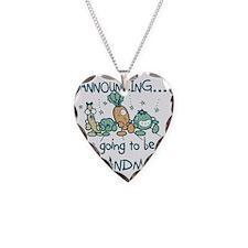 VEGGIESANNOUNCdGRNADMA Necklace Heart Charm