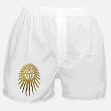 Jesuit IHS Monogram_Light Boxer Shorts