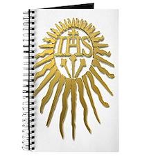 Jesuit IHS Monogram_Light Journal