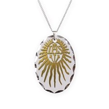 Jesuit IHS Monogram_Light Necklace
