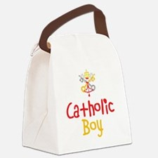 CatholicBoy_Both Canvas Lunch Bag