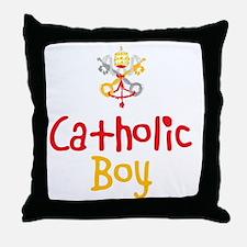CatholicBoy_Both Throw Pillow