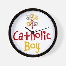 CatholicBoy_Both Wall Clock