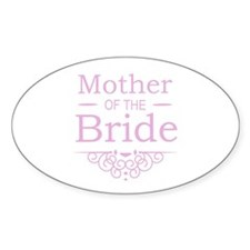 Mother of the Bride pink Decal