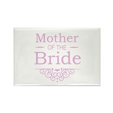Mother of the Bride pink Magnets