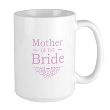 Mother of the Bride pink Mugs