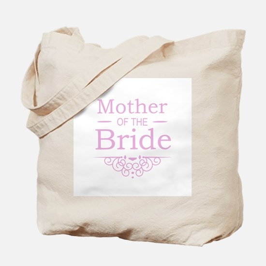 Mother of the Bride pink Tote Bag