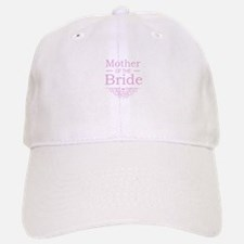 Mother of the Bride pink Baseball Baseball Cap