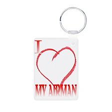 LOVE AIRMAN. Keychains