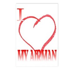 LOVE AIRMAN. Postcards (Package of 8)