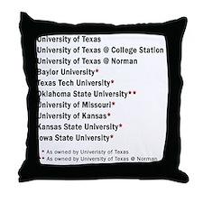 big2 Throw Pillow