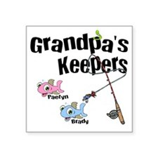 "grandpaskeepers Square Sticker 3"" x 3"""