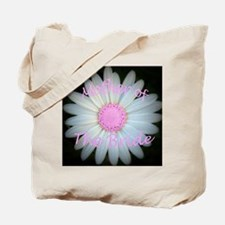 Pink daisy mother of bride Tote Bag