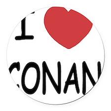CONAN01 Round Car Magnet