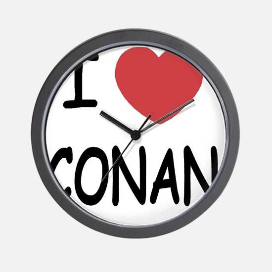 CONAN01 Wall Clock