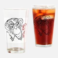 wise monkey3 Drinking Glass