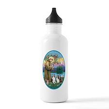 Oval-St Francis (w) -  Water Bottle