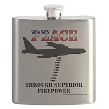 peace b52 Flask