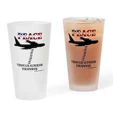 peace b52 Drinking Glass