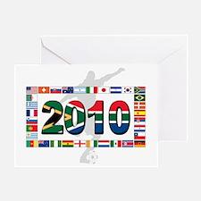 world cup flag(n) Greeting Card