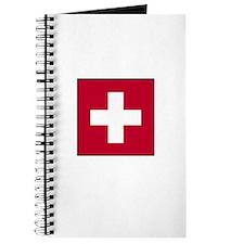 Swiss Flag - Switzerland Journal