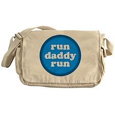 rundaddyrun_blue Messenger Bag