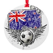 Soccer fan New Zealand Ornament