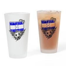 Soccer fan Honduras Drinking Glass