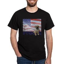 FIN-puggle-patriotic2 T-Shirt