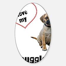 FIN-puggle-love-CROP Decal