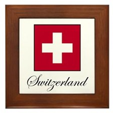 Switzerland Framed Tile