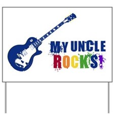 Blue Guitar_Uncle Yard Sign